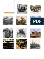 20th Century Transport Vehicles