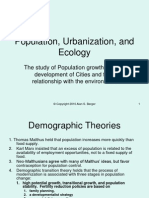 201.07 Population, Ecology, Urbanization
