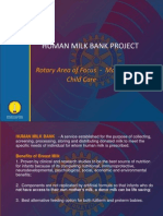 Rotary Human Milk Bank Project