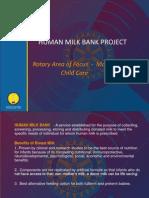 Rotary Human Milk Bank Project