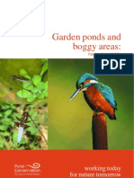 English Nature - Garden Ponds and Boggy Areas - Havens for Wildlife