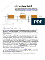 Conversion Analoga Digital