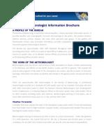 Grad Met Info Brochure