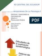 Psicología clínica Presentacion Grupo 4