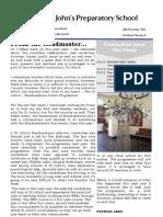 Preparatory Newsletter No 11 2013