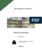 Presa Cuchuquesera-Informe Final