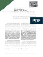 Alexander Príncipe - Importancia De La Psicología Educativa En La Formación Del Profesional En Educación.pdf