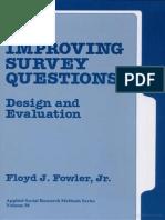 FOWLER, F. (1995). Improving survey questions.pdf