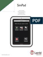 SimPad Spanish DFU-958