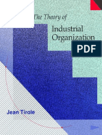 The Theory of Industrial Organization - Tirole