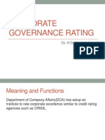 Corporate Governance Rating-1 II(2,3,4)