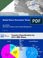 Global Macro Economic Views - GSAM