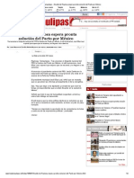29-11-2013 'Alcalde de Reynosa espera pronta solución del Pacto por México'