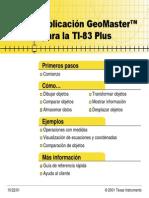 Geomaster Ti-83 Plus