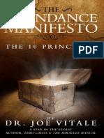 JoeVitale-AbundanceManifesto