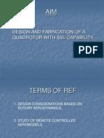Quad Rotor - a new concept