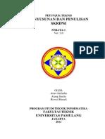 Petunjuk Teknis Skripsi Teknik Informatika UNPAM 2.0
