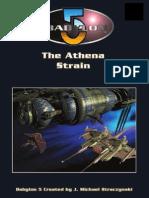 D20 - Babylon 5 RPG - 1st Edition - Adventure - The Athena Strain