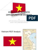 1. Vietnam Pest Analysis