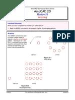 Autocad 2d Module 23 PDF