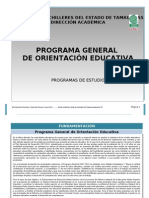 Programa General OE