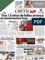 Periódico Norte de Ciudad Juarez 30 de Noviembre de 2013
