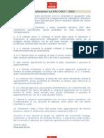 Conclusioni Pao 2007 - 2008 e Relativa Casistica