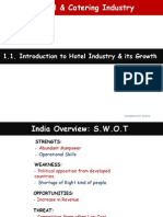 1.1 Introduction to Hotel Industry & Its Growth in India.ppsx