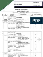 Planificare Clasa a III - A