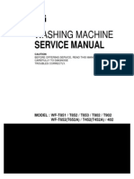 ServiceManuals LG Washing WFT902 WF-T902 Service Manual