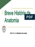 Breve Historia Da Anatomia