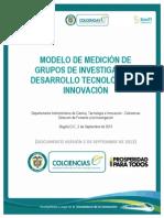 Modelo de Medicion de Grupos 2013 2