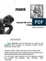 ETICA APLICATA