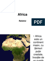 Africa - Relieful