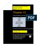 CF Chapter 11 Excel Master Student