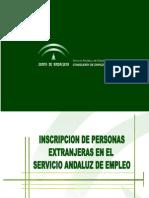 Presentacion inscripcion extranjeros