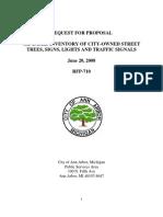 Tree Survey Rfp