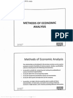 Method of Economic Analysis