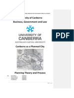 Canberra as a Planned City