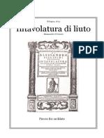 Alessandro Piccinini - (Archlute) 1623