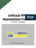 Certificação PMP - Responsabilidade Profissional (PMBOK 4ª edição)