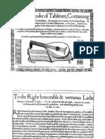 William Barley (Ed.) - A New Booke of Tabliture