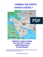 Reptilian Undersea Base Destroyed - 5.0 Quake Gulf of Aden - Dec 01, 2011 - By Tolec