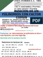 1 Factorizaciòn de un Polinomios con factor comùn web