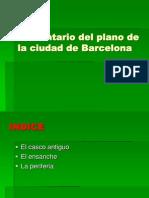 Comentario Del Plano de Barcelona