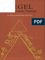 Glenn Alexander Magee - Hegel and the Hermetic Tradition