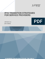 IPV6 TRANSITION STRATEGIES  FOR SERVICE PROVIDERS by Jhonson Liu