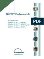 SLOFEC PipeScanner Datasheet