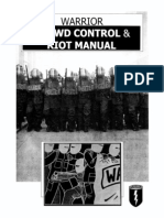 Crowd control & Riot manual