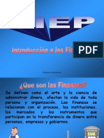 Taller Integrado de Finanzas Introduccion FC